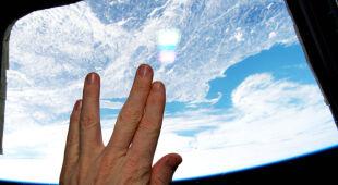 """""""Wolkański salut"""" z pokładu ISS"""