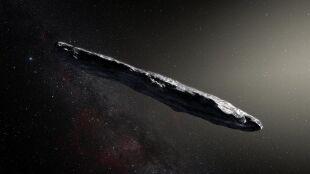 Oumuamua znów zaskakuje. Prawdopodobnie nie jest tym, za co ją uważano