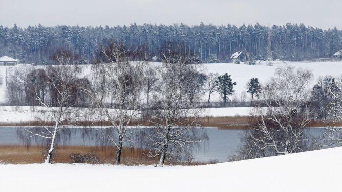 Pogoda na dziś: będzie prószyć śnieg, <br />lokalnie 11 stopni mrozu