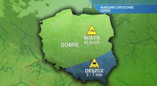 Warunki drogowe w niedzielę 30.05