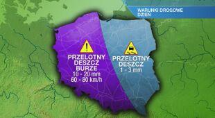 Warunki drogowe w środę 19.05