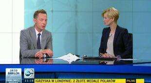 Tomasz Wasilewski o przedpołudniowych burzach (TVN24)