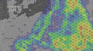 Potencjalny rozwój burz w ciągu najbliższych dni (Ventusky.com) | wideo bez dźwięku